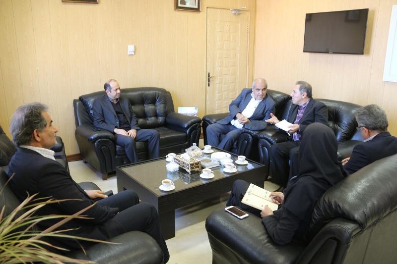 نشست مشترک مدیرعامل گاز گلستان و رؤسای دانشگاه پیام نور شهرستانهای گرگان و بندرگز