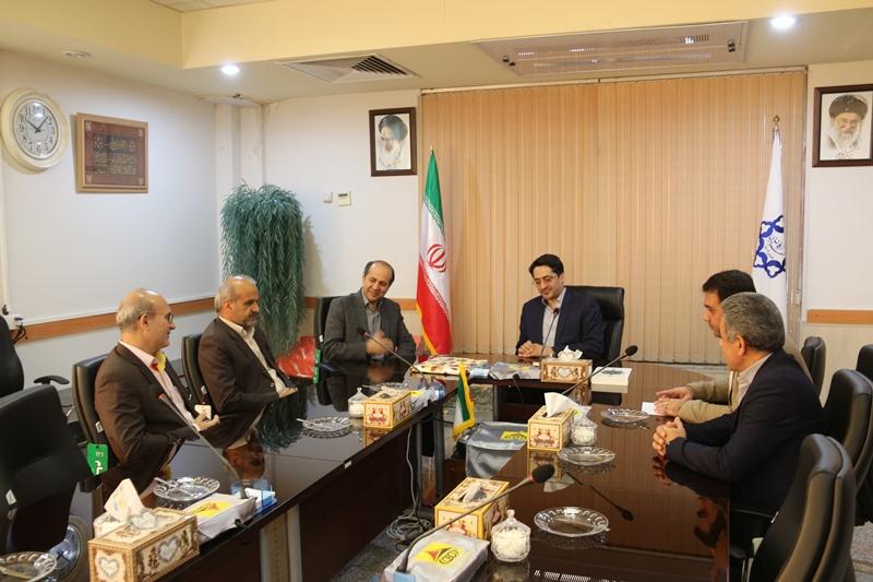 نشست شهردار منطقه یک گرگان و مدیر عامل شرکت گازاستان گلستان