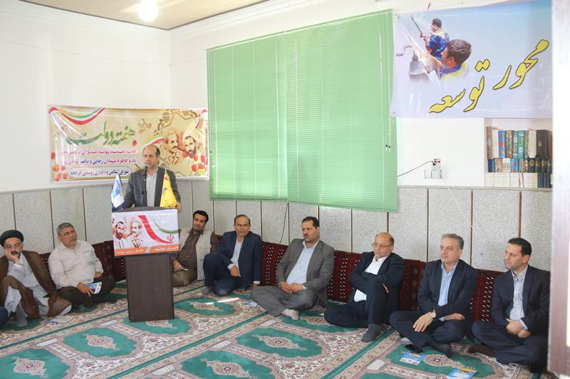 افتتاح و شروع عملیات اجرایی پروژه های گاز رسانی شهرستان علی آباد کتول